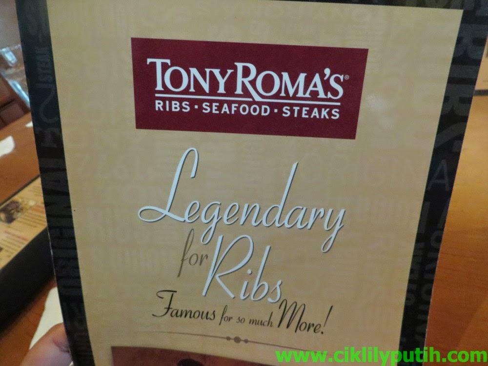 Makan Beef Ribs Di Tony Roma s Sempena Promosi Bulan Kelahiran Aku