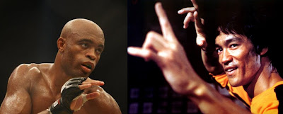 Anderson Silva VS Bruce Lee
