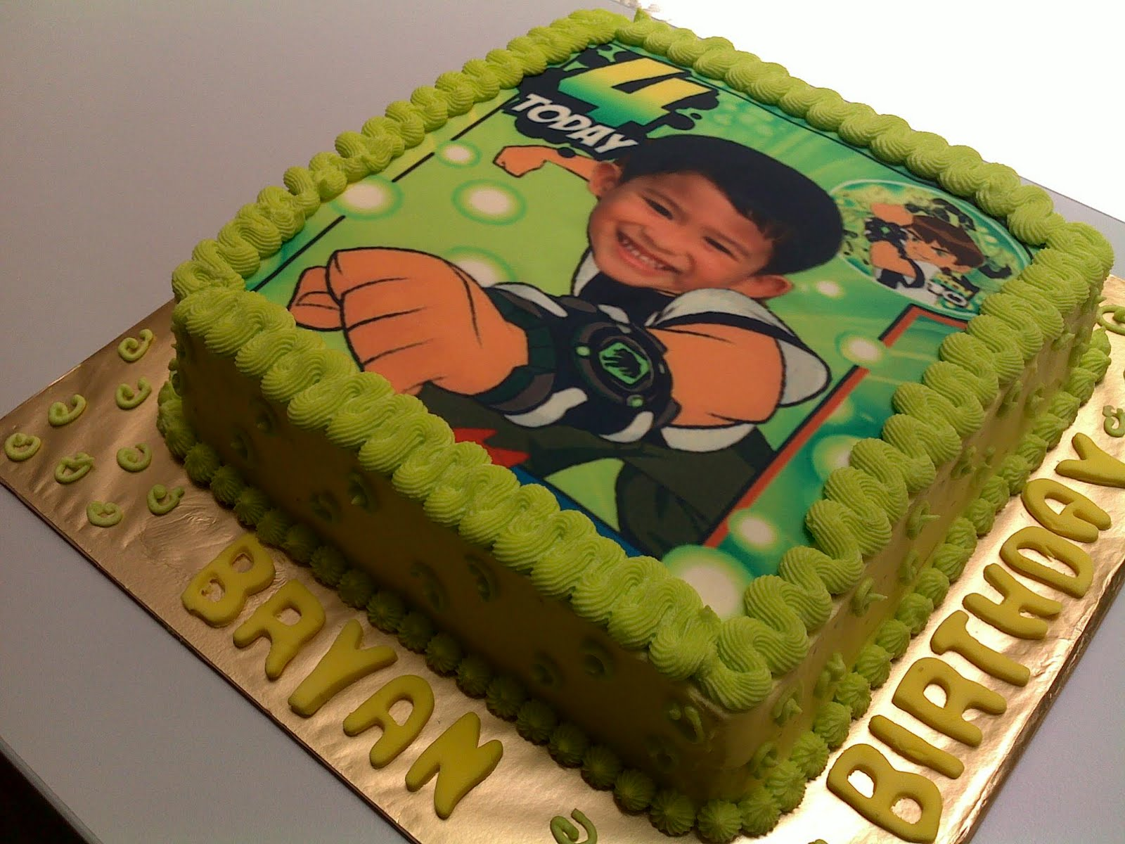 Family Firsts Confections Ben 10 Cake
