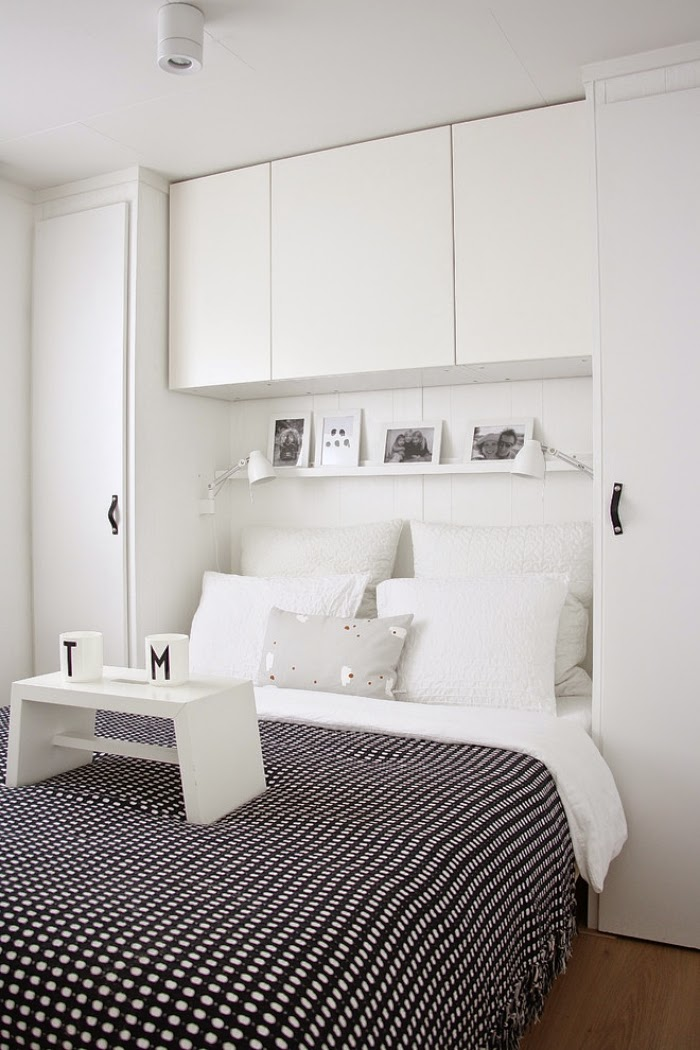 Modern Minimalis Interior Bedroom Design : minimalist bedroom designs : bedroom wall cabinet with handle-less ...