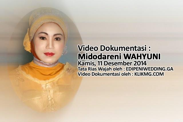 Video Dokumentasi Prosesi Siraman YUNI 11 September 2014 - Tata Rias & Busana oleh EDIPENIWEDDING.GA Rias Pengantin Purwokerto