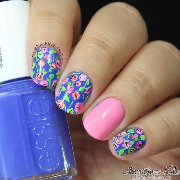 magically polished nail art