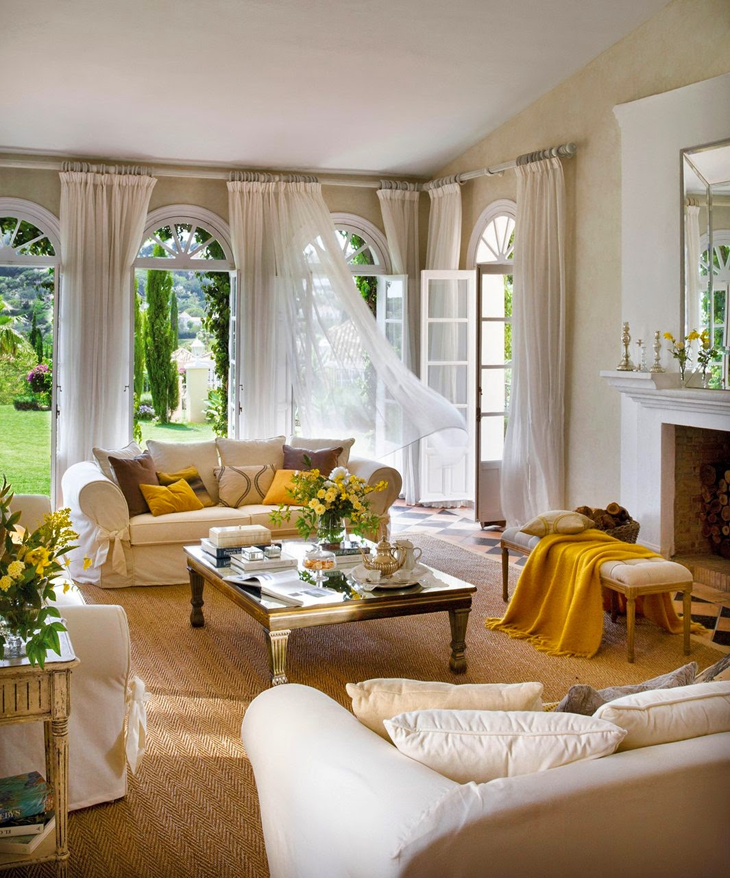 Blog by nela una casa abierta al jardin - Butacas pequenas para salon ...
