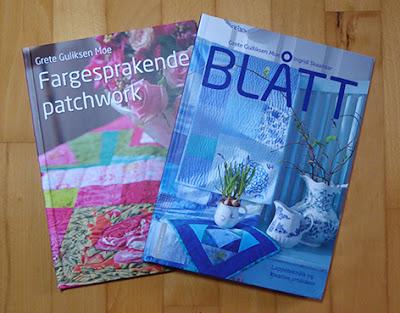 Norske Patchworkbøger af Grete Gulliksen