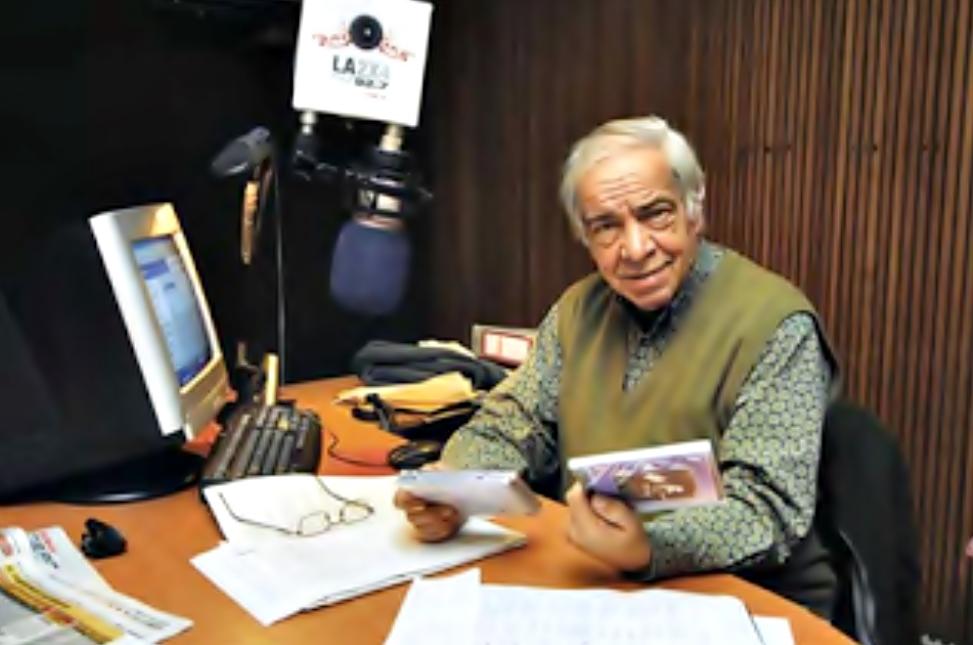 * Falleció el periodista José María Safigueroa
