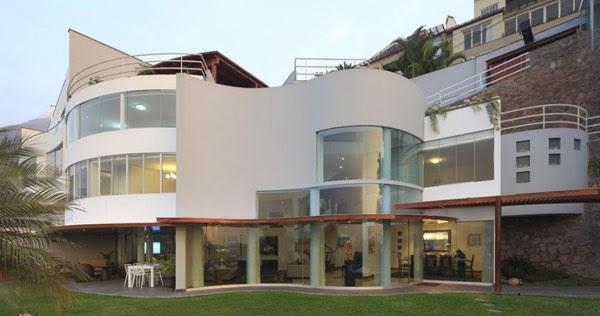 Dise o de interiores arquitectura residencia moderna en for Diseno de interiores lima