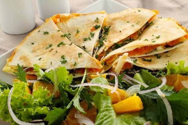 Quesadillas, receta, Tex-Mex, comida mexicana, chile jalapeño, Chile chipotle, recetas caseras,