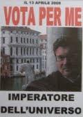 VOTA PER ME (imperatore dell'universo)