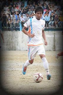 Kalimpong young footballer Dipen Pradhan