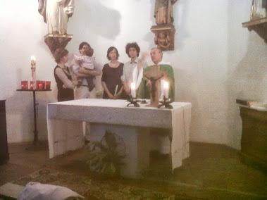 Bateig de IVAN GIORGIS  a Santa Helena d'Agell el 2.9.2012