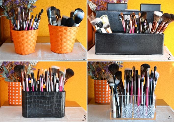 Organizaci n de mi maquillaje botes recipientes etc - Botes plastico ikea ...