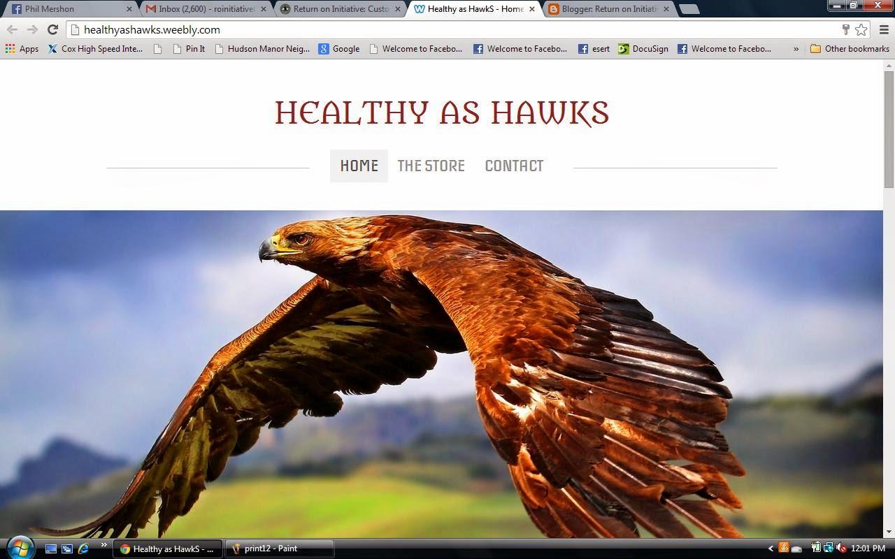 Healthy as Hawks
