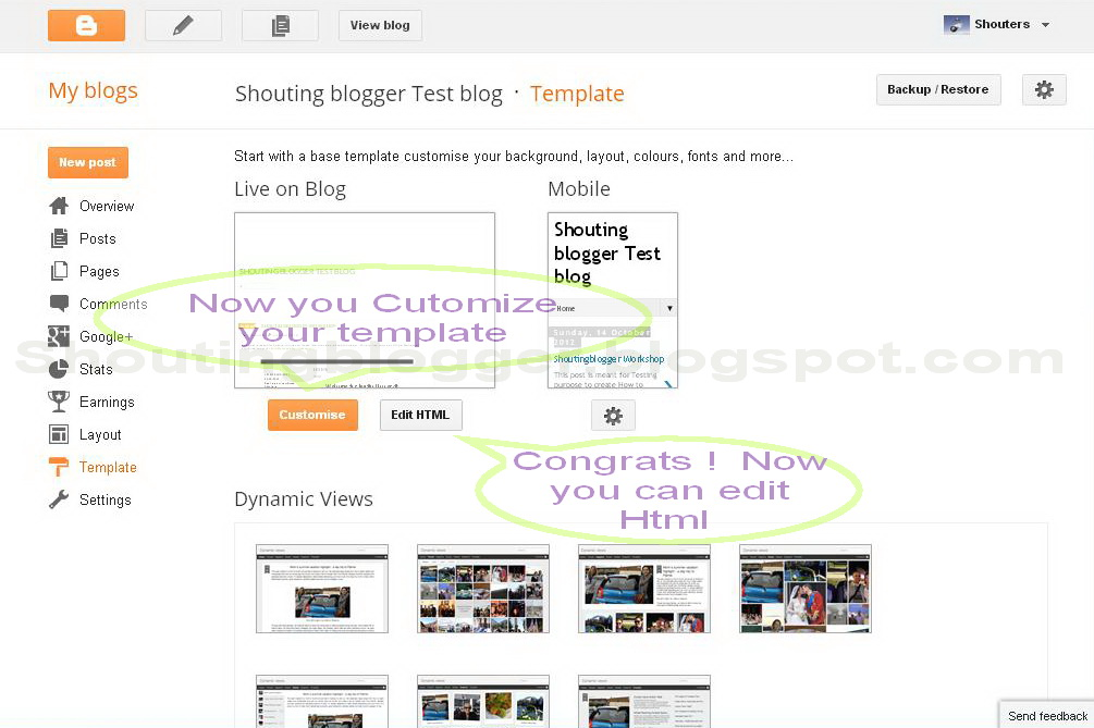 how to solve blogger template designer problem and editing html