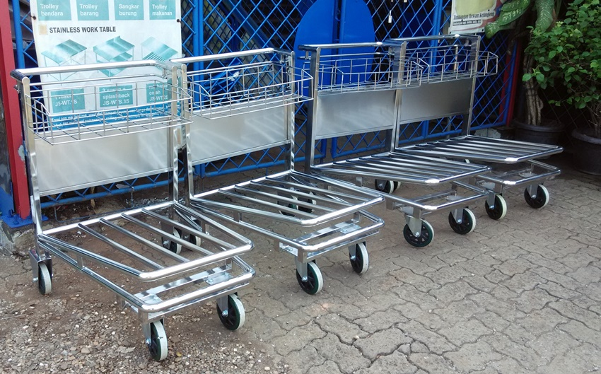 Aiport trolley (trolley bandara stainless)