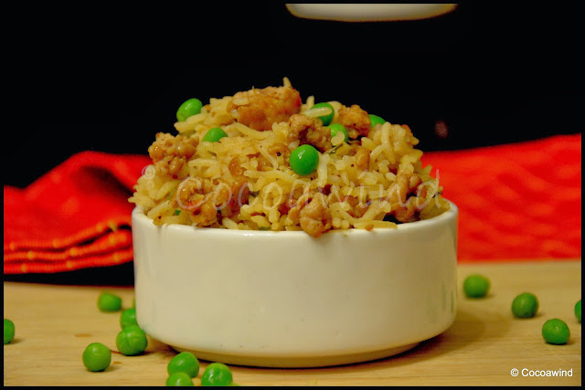 Keema Matar Rice