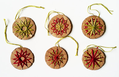 Malke Rosenfeld Math Star Ornaments