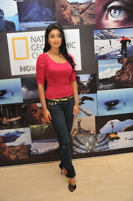 Shriya Saran Latest Stills from National Geographic Channel in Tamil Language Launch