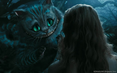 Hollywood Movies Alice In Wonderland Cheshire Cat HD Desktop Wallpaper And Best Backgrounds For Your PC Download Movie