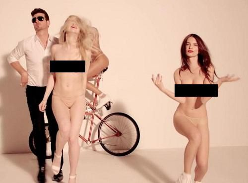 blurred lines nsfw version