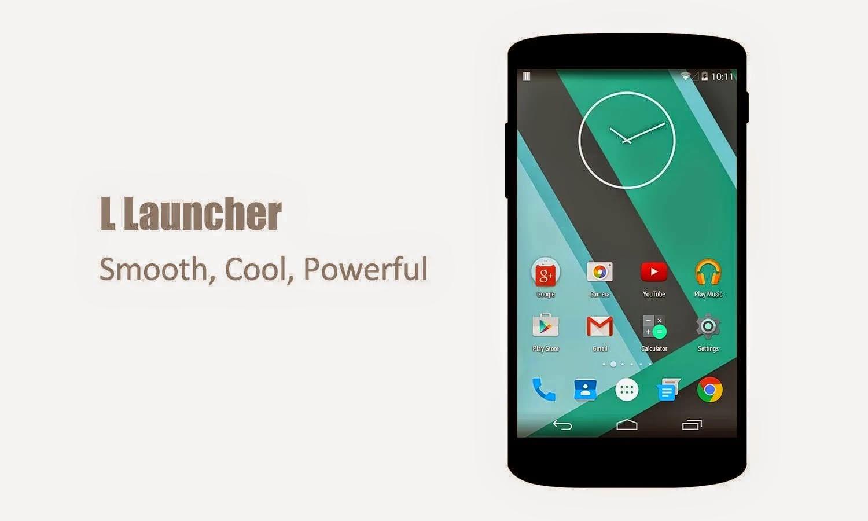 L Launcher PRO - Lollipop Launcher v1.8 APK