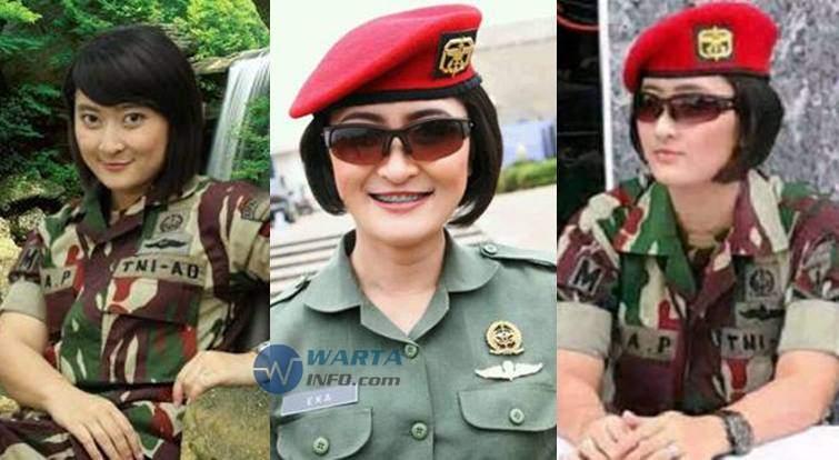 foto tentara wanita cantik indonesia foto cantik
