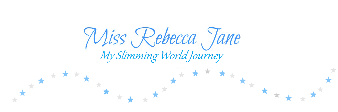 Miss Rebecca Jane's Slimming World Journey.