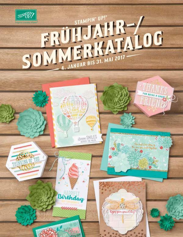 Frühjahr-/Sommerkatalog 2017