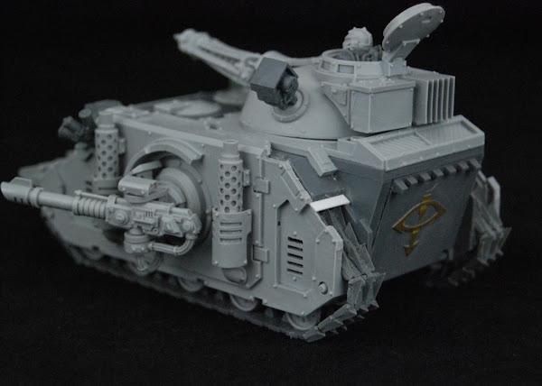 Warhammer 30k Sons of Horus  SOH+Predator+WIP+08