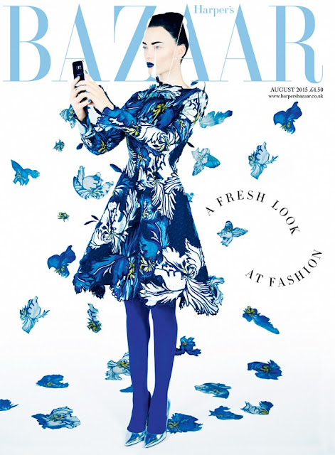 Fashion Model @ Naty Chabanenko - Harper's Bazaar UK, August 2015