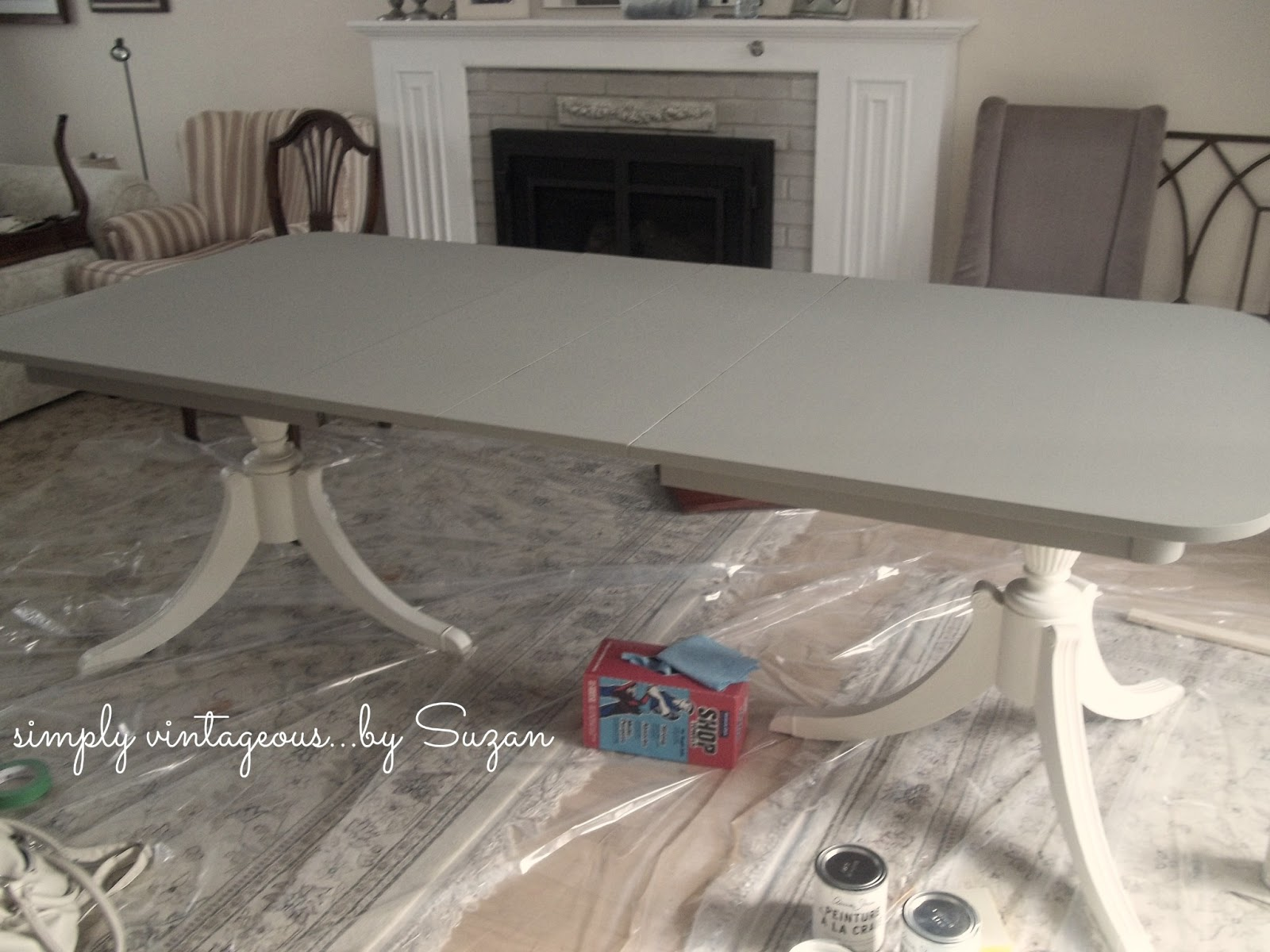 simply vintageousby suzan: client's update ( dining room set