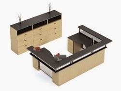 Zira U Shaped Reception Desk