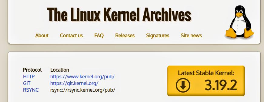 Kernel Linux 3.19.2 no Ubuntu