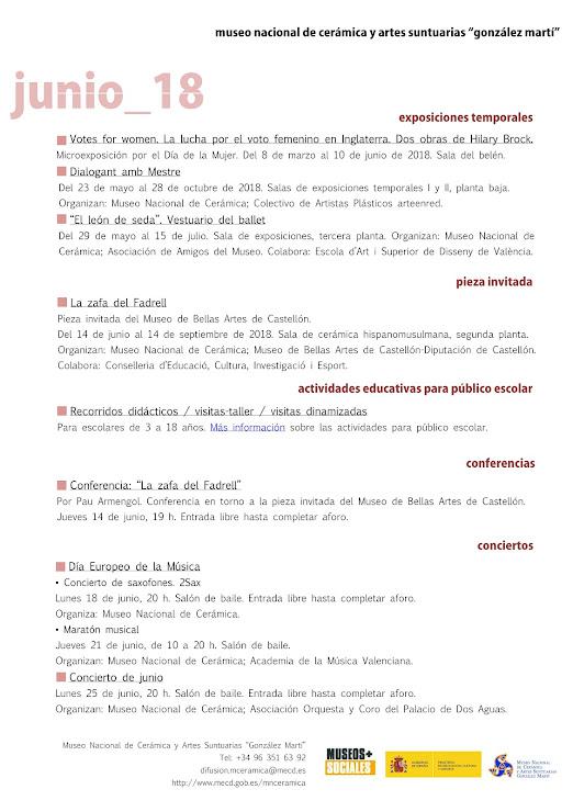 ACV 04, MUSEO GLEZ MARTÍ (01 al 30 de Junio de 2018)