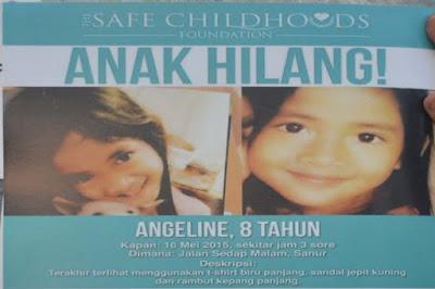 4 Fakta Mengejutkan Terbaru Terkait Pembunuhan Angeline