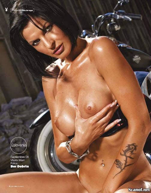 Playboy Blanca Soto Desnuda