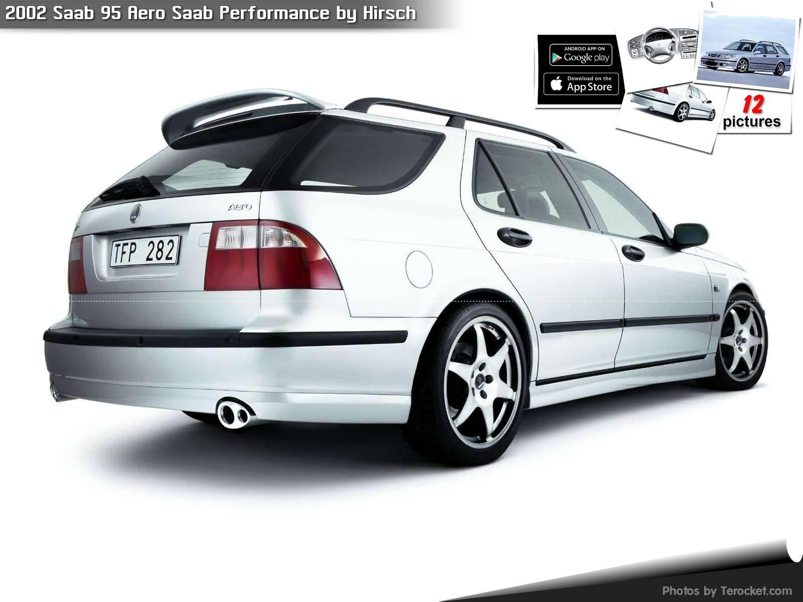 Hình ảnh xe ô tô Saab 95 Aero Saab Performance by Hirsch 2002 & nội ngoại thất