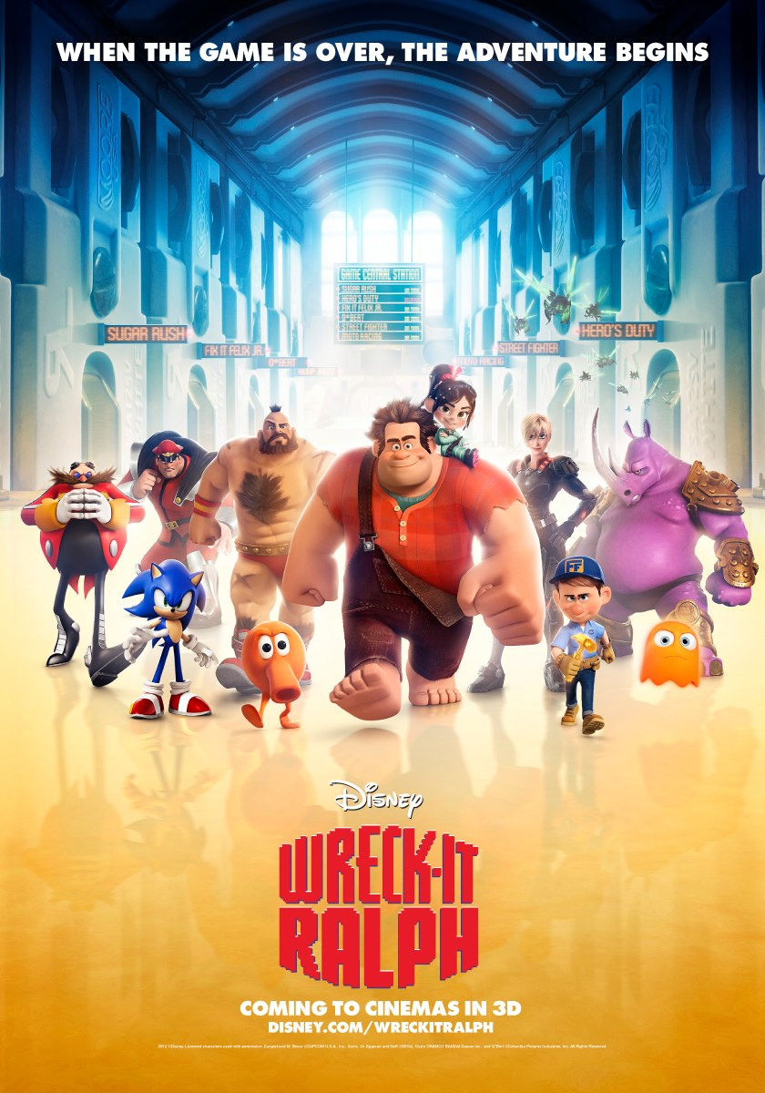 Wreck It Ralph Wallpapers HD free Download - ralph in wreck it ralph wallpapers