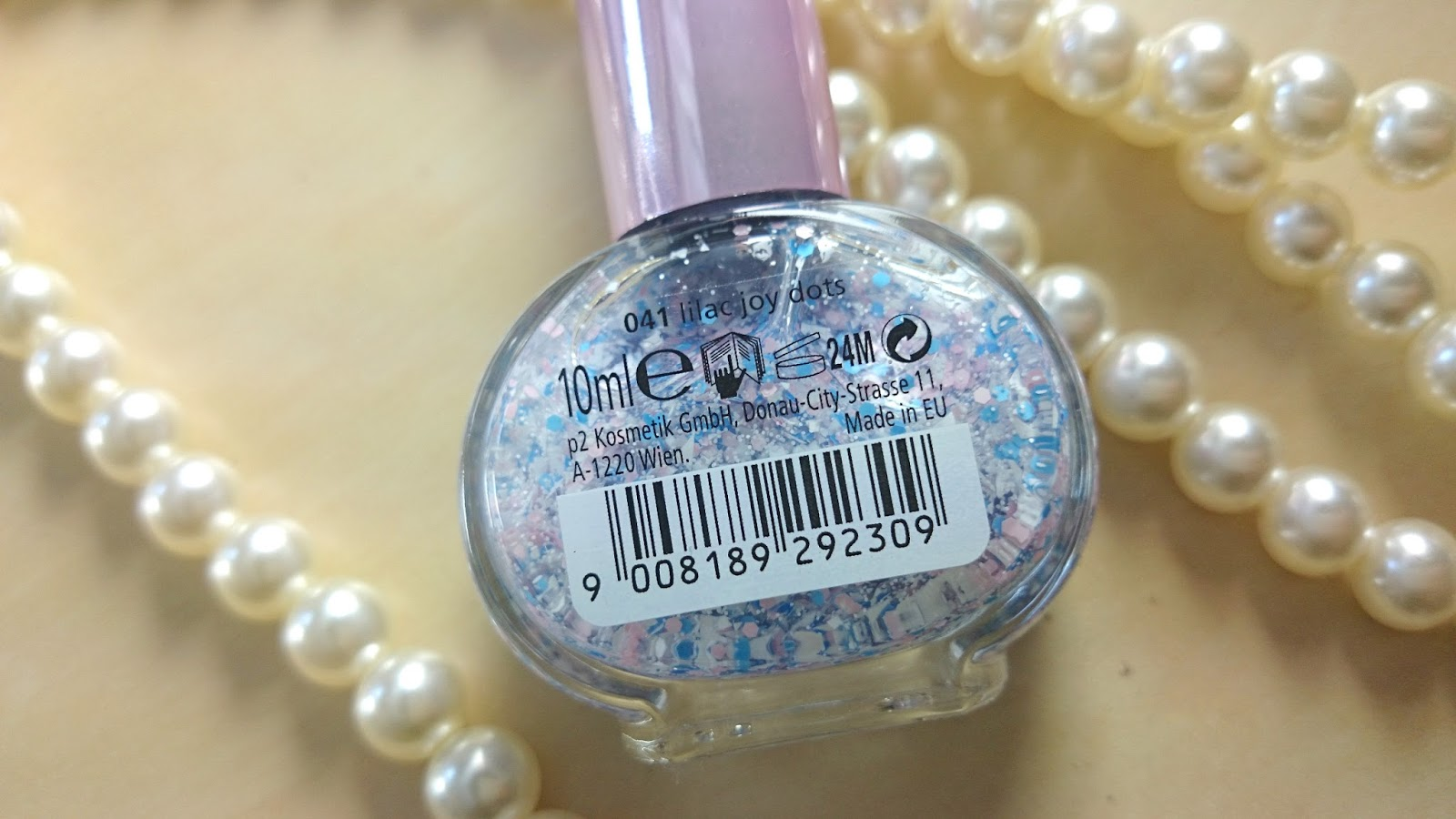 p2 Just Dream like spring´s fav nail top coat 041 lilac joy dots
