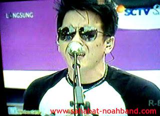 Inbox SCTV Ariel Noah Band tampil perdana dengan formasi Lengkap