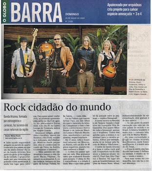 """ArizonA na midia - """"Globo""""."""