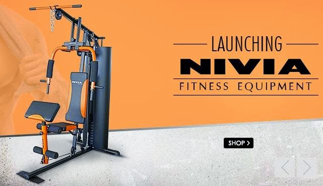 Snapdeal : Nivia Fitness Equipment : Buy To Earn