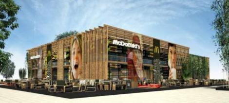 World's biggest McDonald's, Biggest McDonald's in the world, biggest McDonald's open on London Olympic 2012, Olympic Park restaurants at London 2012, biggest McDonald's branch in london, biggest McDonald's restaurants in the world, biggest McDonald's pictures, london biggest McDonald's photo, pictures of biggest McDonald's