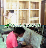 Proses Finishing Furniture Politur Antirayap Dempul