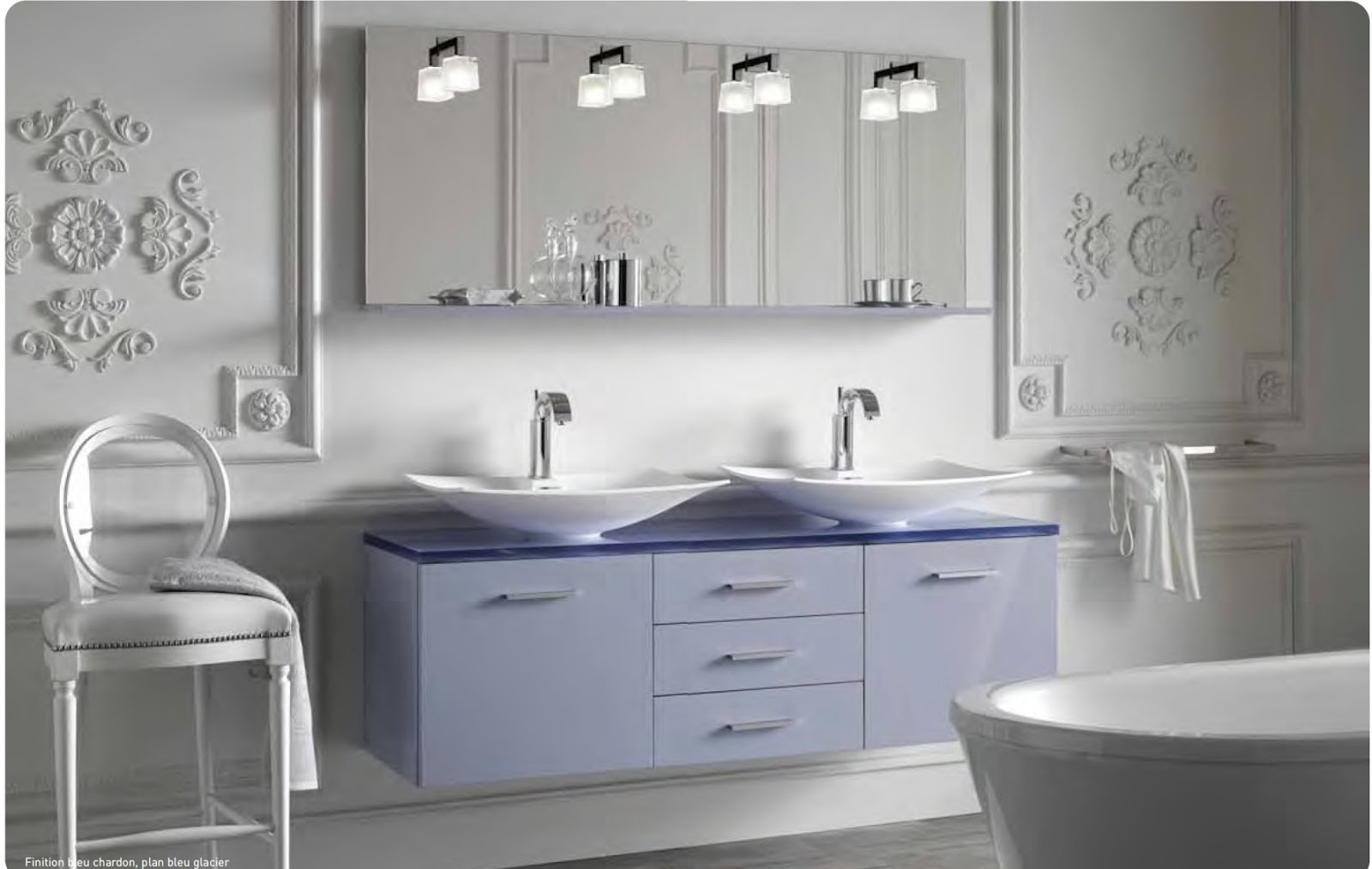 Meuble vasque decotec new york - Decotec salle de bain ...