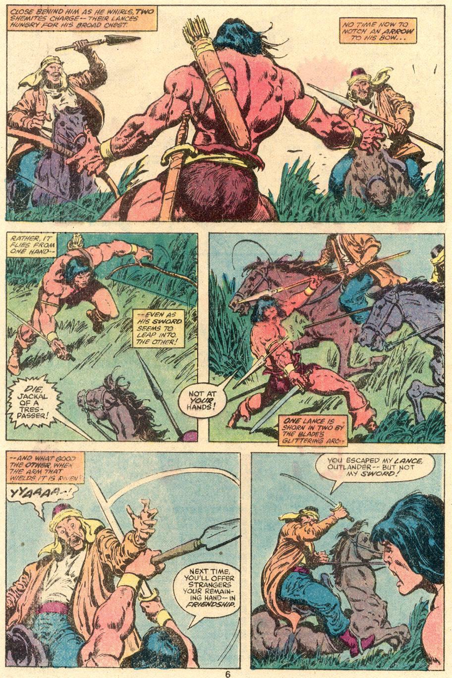 Conan the Barbarian (1970) Issue #109 #121 - English 5