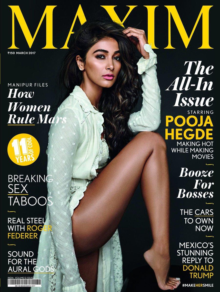 Pooja Hegde Maxim Photoshoot