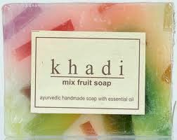 khadi products- Product Review- khadi handmade soaps- khadi handmade soap review- khadi mixed fruits soap- khadi natural- handmade soaps- vegetable oil soap-