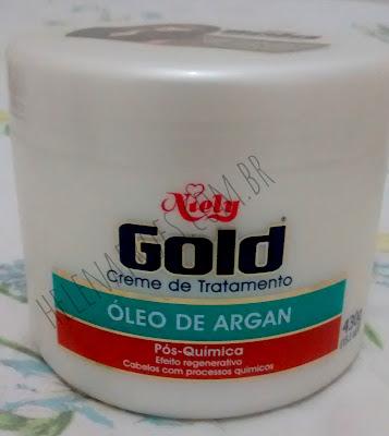Hidratação da Niely Gold