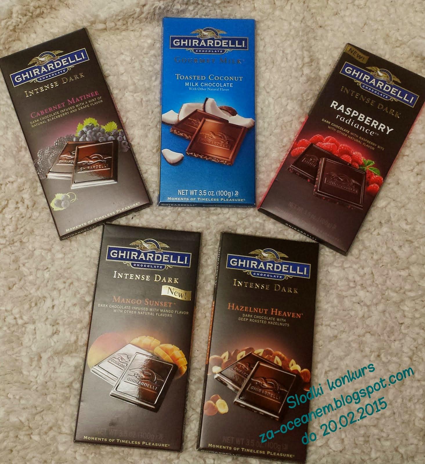 A czekolada wędruje do...