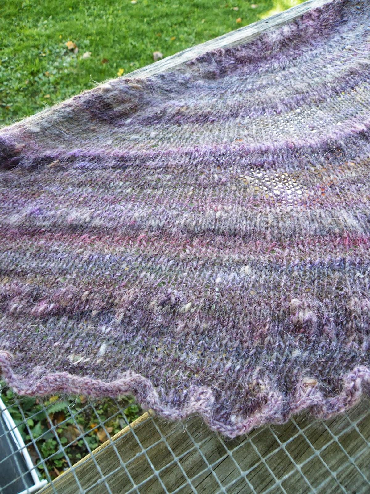 Knitting Handspun Wool : Ontheround tips for knitting with handspun yarn